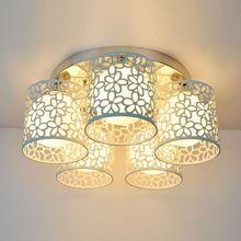 creativo comedor luz de techo de metal llev la lmpara del techo de luz para saln