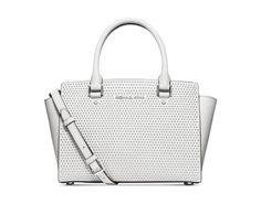 6394ad684cc488 MICHAEL Michael Kors Selma Medium Microtud Satchel Handbags Michael Kors,  Purses And Handbags, Michael
