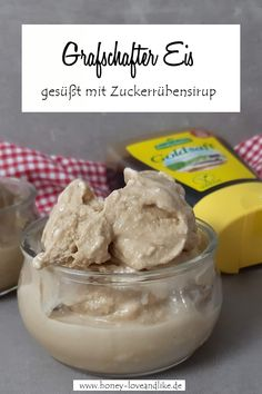 Grafschafter Eis Sorbet, Cereal, Ice Cream, Pudding, Baking, Breakfast, Recipes, Easy Peasy, Party Ideas