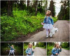 childre, forest