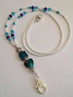 Cute Jewelry, Beaded Jewelry, Beaded Necklace, Beaded Bracelets, Lanyard Necklace, Necklace Holder, Infinity Jewelry, Beaded Bookmarks, Beaded Lanyards