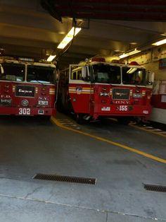 FDNY trucks