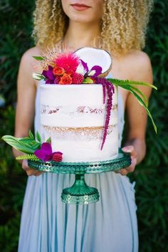 Tropical cake | Wedding & Party Ideas | 100 Layer Cake