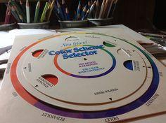 Color Scheme Selector by Nutmeg Designs, via Flickr