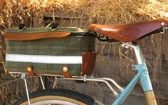 Nigel Smythe Big Loafer, tweed (TrunkSack L) Bike Bag, Cargo Bike, Bicycle Accessories, Loafer, Tweed, Panniers, Bags, Touring, Trailers