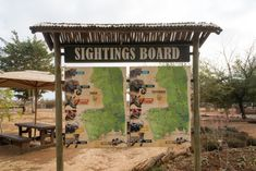 Wildlife sightings board at the Crocodile Bridge Rest Camp, Kruger. Kruger National Park Safari, National Parks, African Safari, Africa Travel, Bird Watching, Conservation, Crocodile, Habitats, Wilderness
