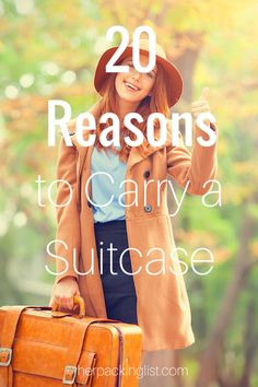 Suitcase vs Backpack: 20 Reasons to Roll Your Luggage - Her Packing List