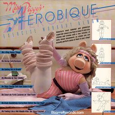 Miss Piggy work-out! Eat your heart out Bob Harper & Co! :))))