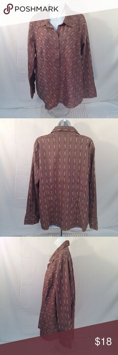 Lane Bryant Women Plus Size 22 24 Striped Shirt Lane Bryant Womens Plus Size 22 24 Floral Striped Long Sleeve Stretch Brown Shirt Label size- 22/24 Measurements are laid flat and approximate Bust-26 Length-27 Sleeve-24 Lane Bryant Womens Plus Size 22 24 Floral Striped Long Sleeve Stretch Brown Shirt Lane Bryant Tops Button Down Shirts