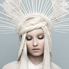Who needs understated when you can go #glam?! Check Out the #Hair Upload of the Day by Jamie Wiley on #Bangstyle. #Beauty Avant Garde Hair, How To Style Bangs, Wild Style, When You Can, Platinum Blonde, Hair Art, Braid Styles, Hair Designs, Hairdresser