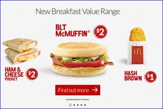Coupons Australia, Mcmuffin, Ham And Cheese, Range, Pocket, Store, Breakfast, Brown, Ethnic Recipes