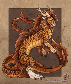 Tiger Dragon by Jessica ´Neon Dragon´ Peffer