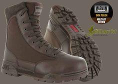 Magnum Boots Free Shoe Polish Promo