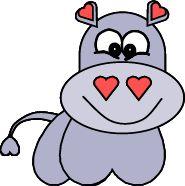 Heart Hippo