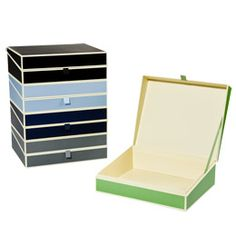 The Container Store > Semikolon Document Box Autumn Collection $24.99