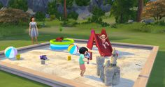 The SimsCake: Download pack: Functional Playground for Toddlers, by Necrodog e Severinka
