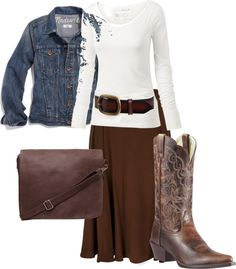 """Western Inspired"" by daisyhedo ❤ liked on Polyvore"