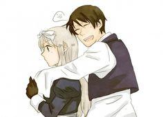 """S.Korea :""""~tehehe~""""*hugs Belarus from behind *"""