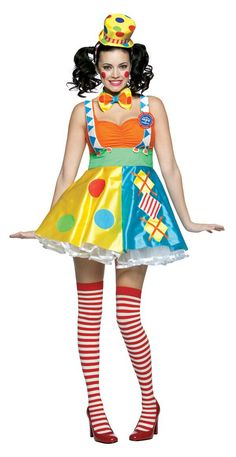 Ringling circus clown costume
