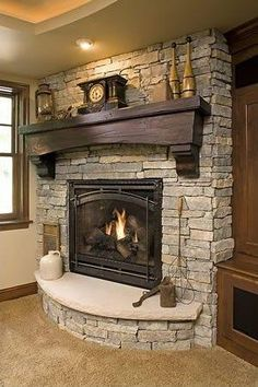 A fireplace may be a great add-on to a home. Besides being an excellent decorative element of the house, recently the fireplace is among the most attractive alternatives for heating. If you wish to create a fireplace which is not… Continue Reading → Home Fireplace, Home, Rustic Fireplaces, House Design, Fireplace Design, Home Remodeling, Fireplace Remodel, Basement Remodeling, Home Deco