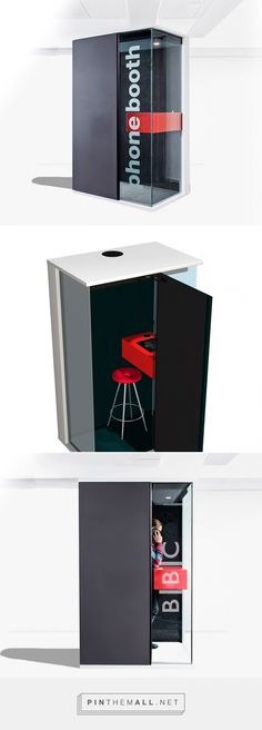 172 best office pods images in 2018 Furniture Layout, Office Furniture, Office Pods, Telephone Booth, Phone Logo, Diy Phone Case, Black Walls, Display Design, Cubicle