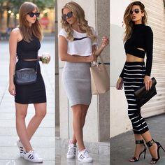 "Instagram'da Streetstyle Inspirations: ""Ways to wear pencil skirt! @fashioninmysoul - @skopljak - @thenativefox"""