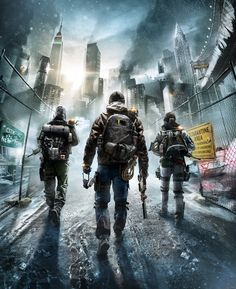 Tom Clancy's The Division: Cover Artwork Final