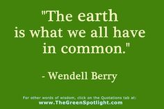 quotes about saving earth | ... isthe fourth installment in my series of posts on Great Quotations