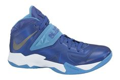newest e0c5c f0df8 Nike Zoom Soldier VII 599263 400 Game Royal Metallic Silver Blue Heather  White