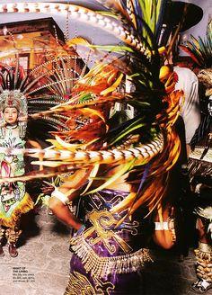 Danza Prehispanica concheros Mexico