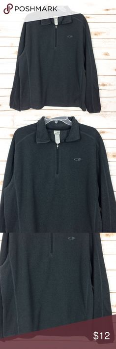 8f3eb2a9 C9 by CHAMPION Gray Sweatshirt 1/4 Zip Large C9 by CHAMPION Men's Size Large