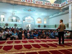 Muslimischer Verein Bern  At Europaplatz Moschee. Basketball Court, Mosque