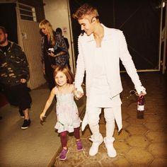 Justin Bieber & sister Jazzy