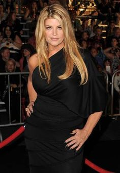 Kirstie Alley..  I hate that when I searched for her one of the sub categories was FAT. She has always been beautiful, and is at any size.