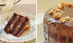 Čokoládový dort Ferrero Chocolate Recipes, Nutella, Pudding, Desserts, Food, Tailgate Desserts, Deserts, Custard Pudding, Essen