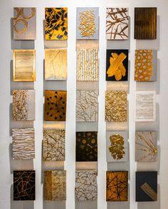 Clark Fine Art — notion creative - M. Small Canvas Paintings, Diy Canvas Art, Modern Art Paintings, Gold Canvas, Abstract Canvas Art, Indian Paintings, Abstract Oil, Abstract Paintings, Landscape Paintings