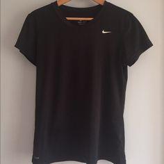 Dri-Fit Nike Top Dri-Fit Black Nike Top. Great condition  Nike Tops