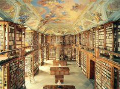 st florian monastery library in Sankt Florian, Austria 10 of the world's most spectacular libraries