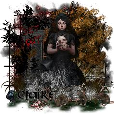 """**Tag Show off** WOW! what an awesome dark tag made by my guest CT Devilish Dezines using my new PTU kit """"Lost Soul"""""""