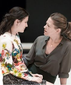 """""""A View From the Bridge"""" was revived this year in honor of the anniversary of playwright Arthur Miller's birth. After two sold-out runs in London, the play moved to NYC. Actress Nicola Walker talks about her role. Fox Actress, Peter Firth, Nicola Walker, Scenography Theatre, Sarah Lancashire, British Actors, Actors & Actresses, Beautiful People, Bridge"""