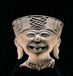 Carita sonriente / Los Cerros / Cultura Centro de Veracruz