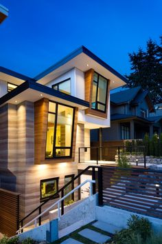 Naikoon Contracting Ltd. together with architect studio Kerschbaumer Design have recently completed Midori Uchi, one of Canada's greenest homes that produces more energy than it consumes.