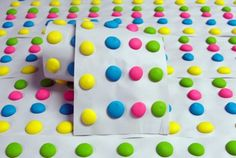 make your own candy dots!