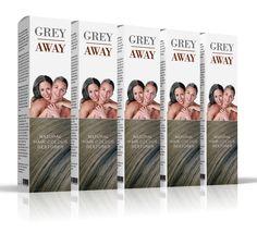 Grey Away MedEq Gray Away, Hair Restoration, Natural Hair Styles, Hair Color, Grey, Gray, Haircolor, Colored Hair, Repose Gray
