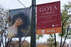 """Cartel de la Exposición """"Goya en Madrid"""" Museo del Prado de Madrid.  #Cartel #Affiche #Arterecord 2014 https://twitter.com/arterecord"""
