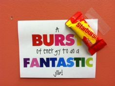 Testing treats/motivation for kids.