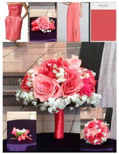New Silk Guava Bridal Bouquet Guava Wedding by BridalBouquets