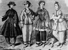 1860's swimwear!