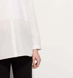 BLUSÓN POPELÍN BLANCO - Ver todo - Camisas y Blusas
