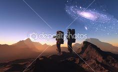 Astronauci — Obraz stockowy #7714408
